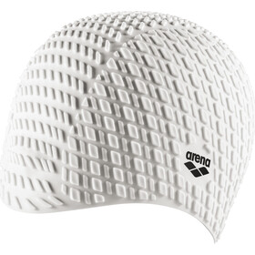 arena Bonnet Silicone Badehætte, white
